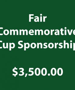 Fair Commemorative Cup Sponsorship
